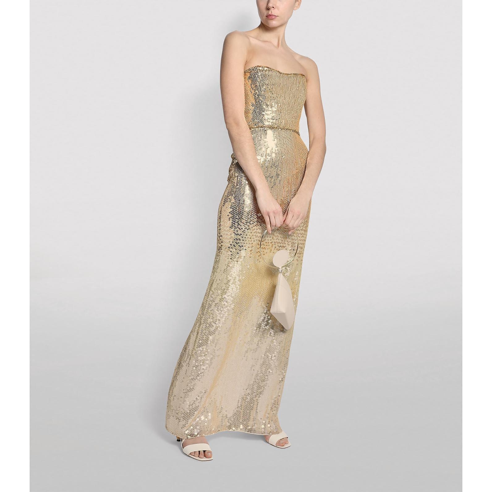 Jenny Packham Rafela Sequin Gown