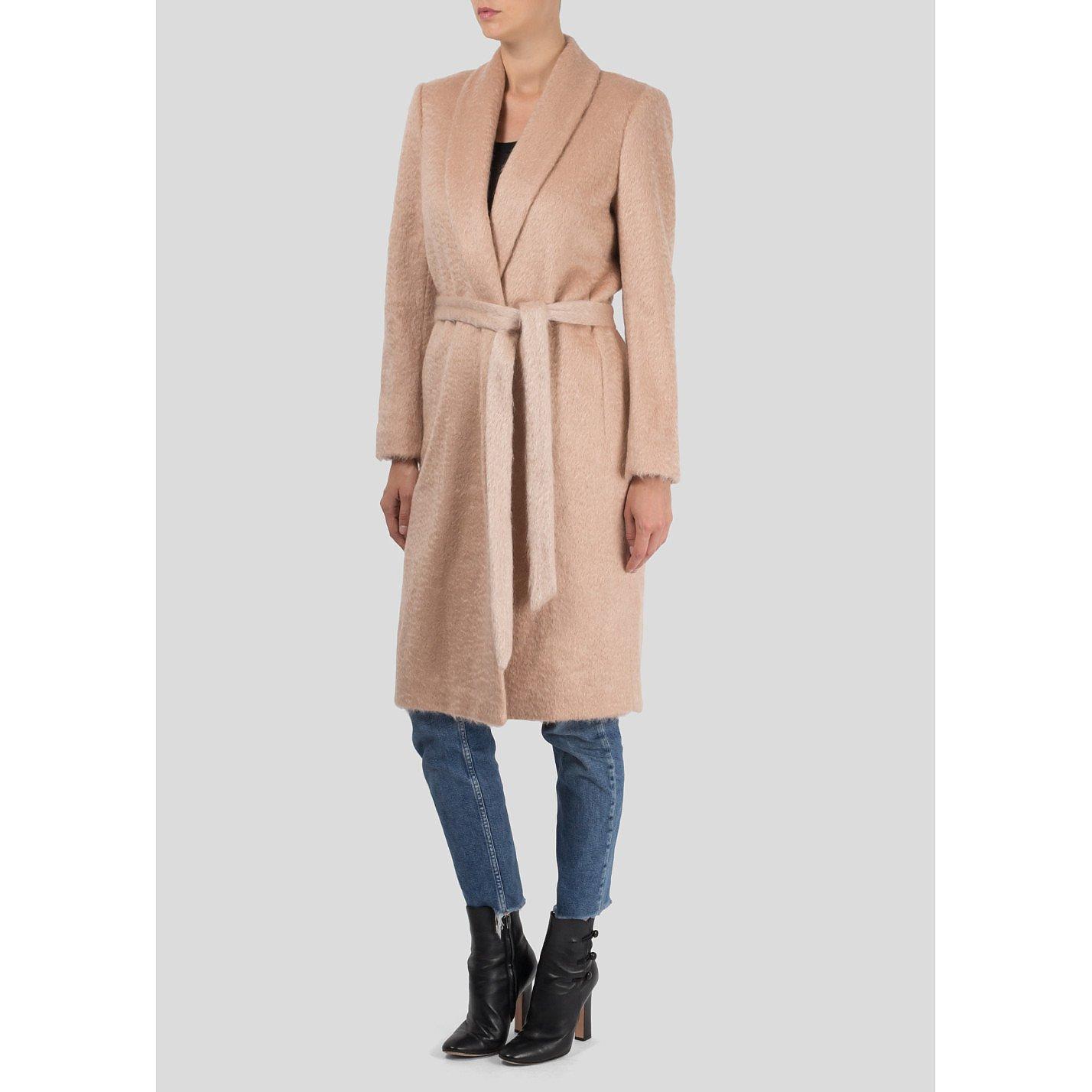 Zoe Jordan Mohair Wrap Coat