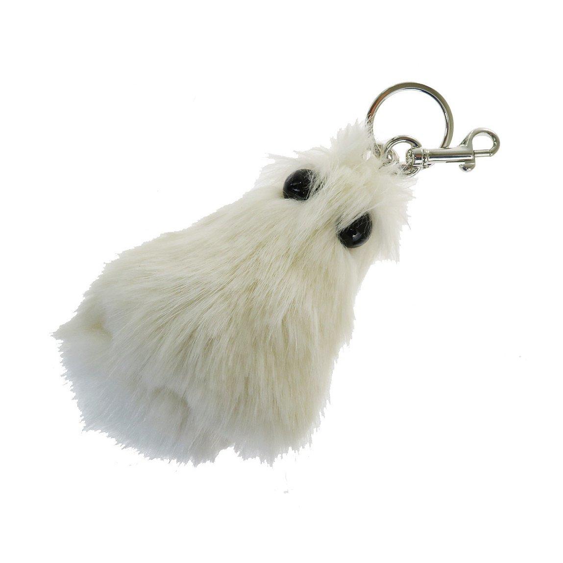 Stella McCartney Faux Fur Chick Keychain Charm