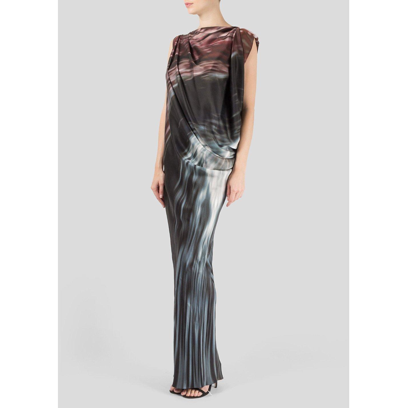 Maria Grachvogel Aconite Print Gown