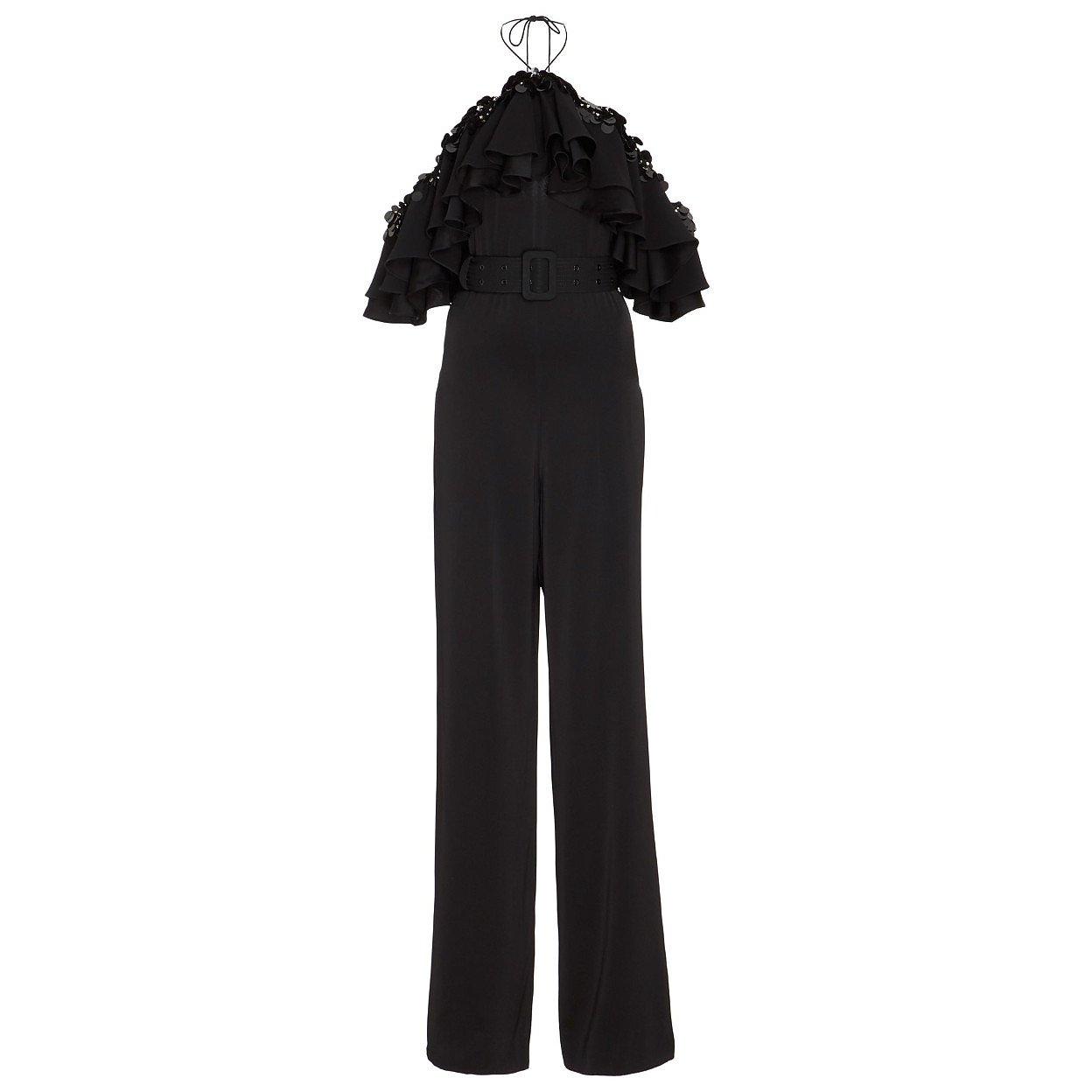 Emilio Pucci Sequinned Ruffle Jumpsuit