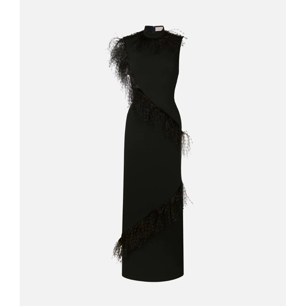 Christopher Kane Feather Insert Dress