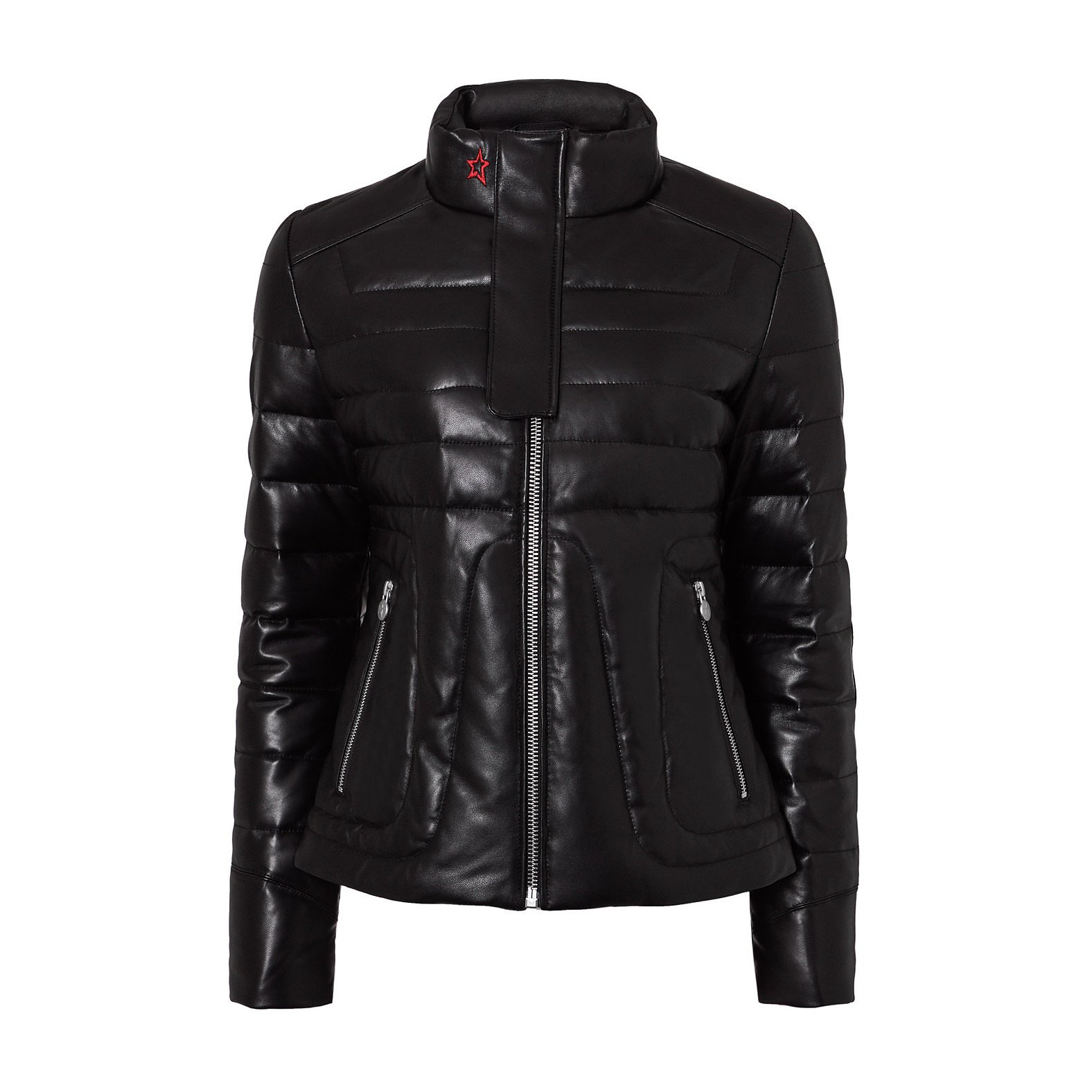 Perfect Moment Lined Leather Jacket