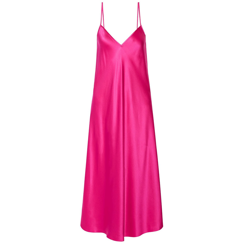 Ellery Technopriest Silk Slip Dress