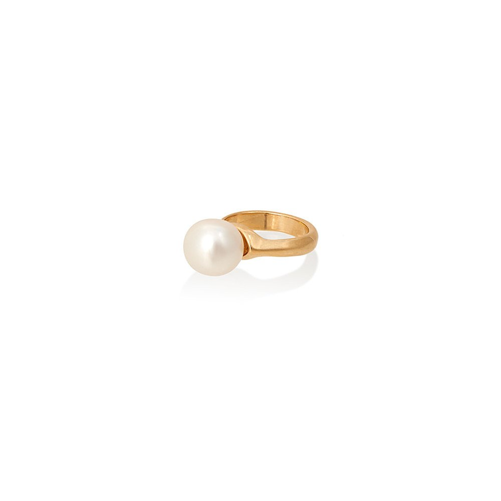 Diana Broussard Penny Pearl Ring