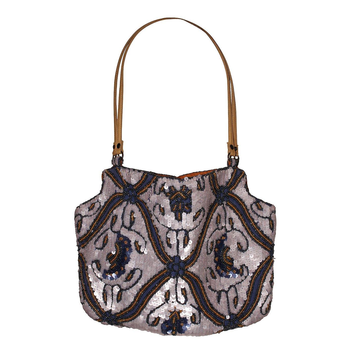 Jamin Puech Sequined Shoulder Bag