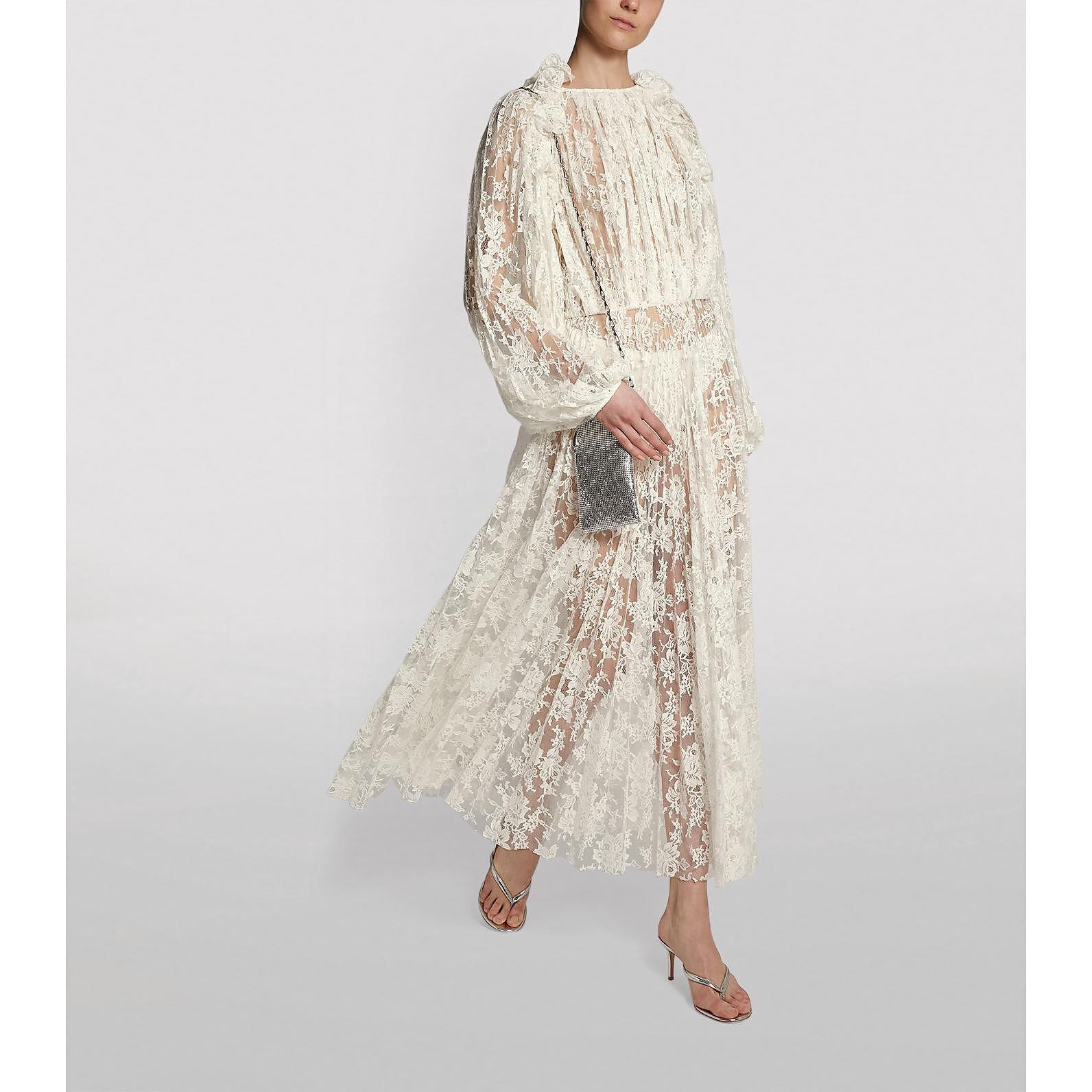 Magda Butrym Dover Lace Midi Dress