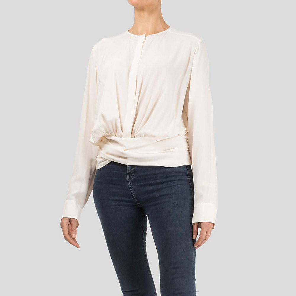 Stella McCartney Blouse With Wrap Around Waist Belt
