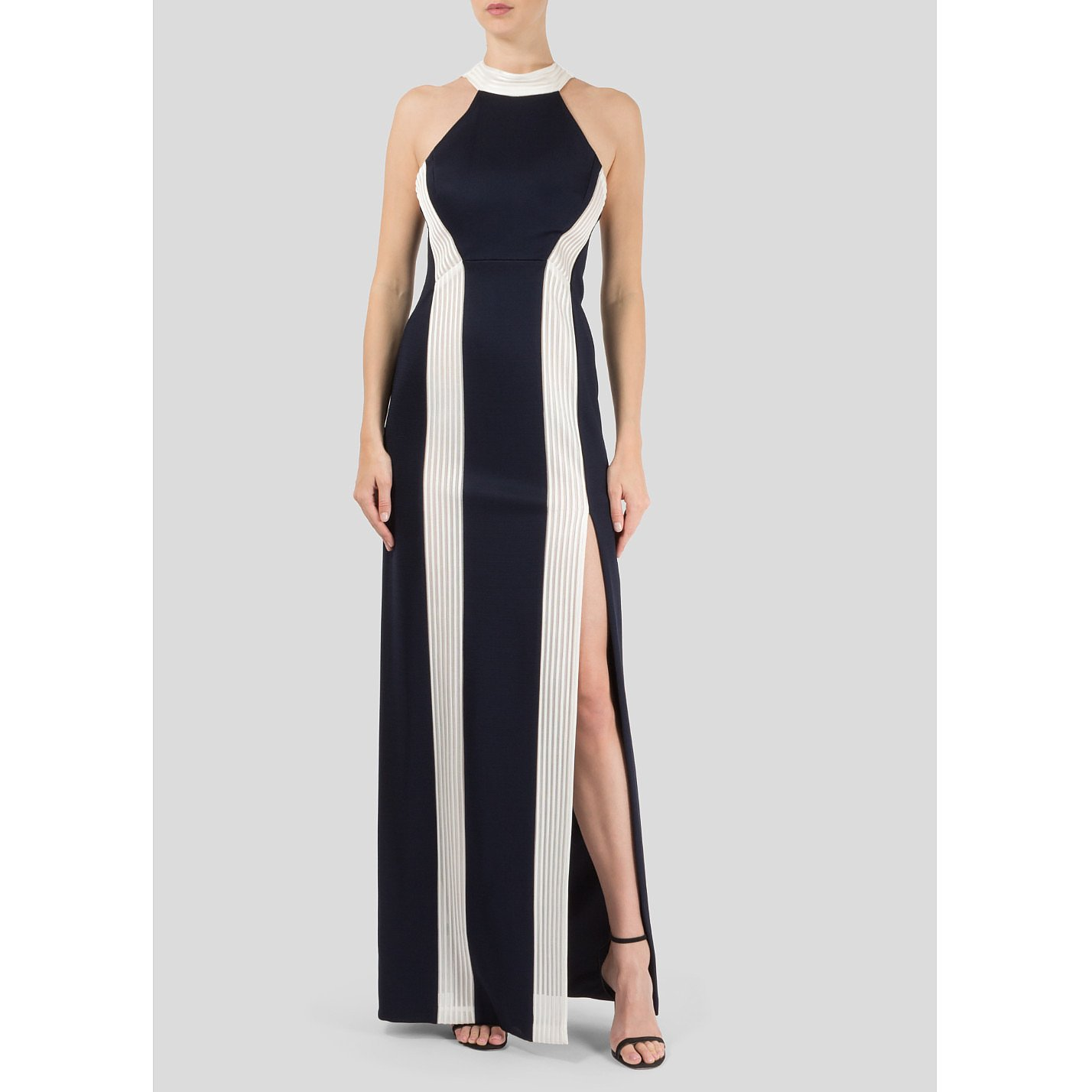 Galvan London Panelled Gown