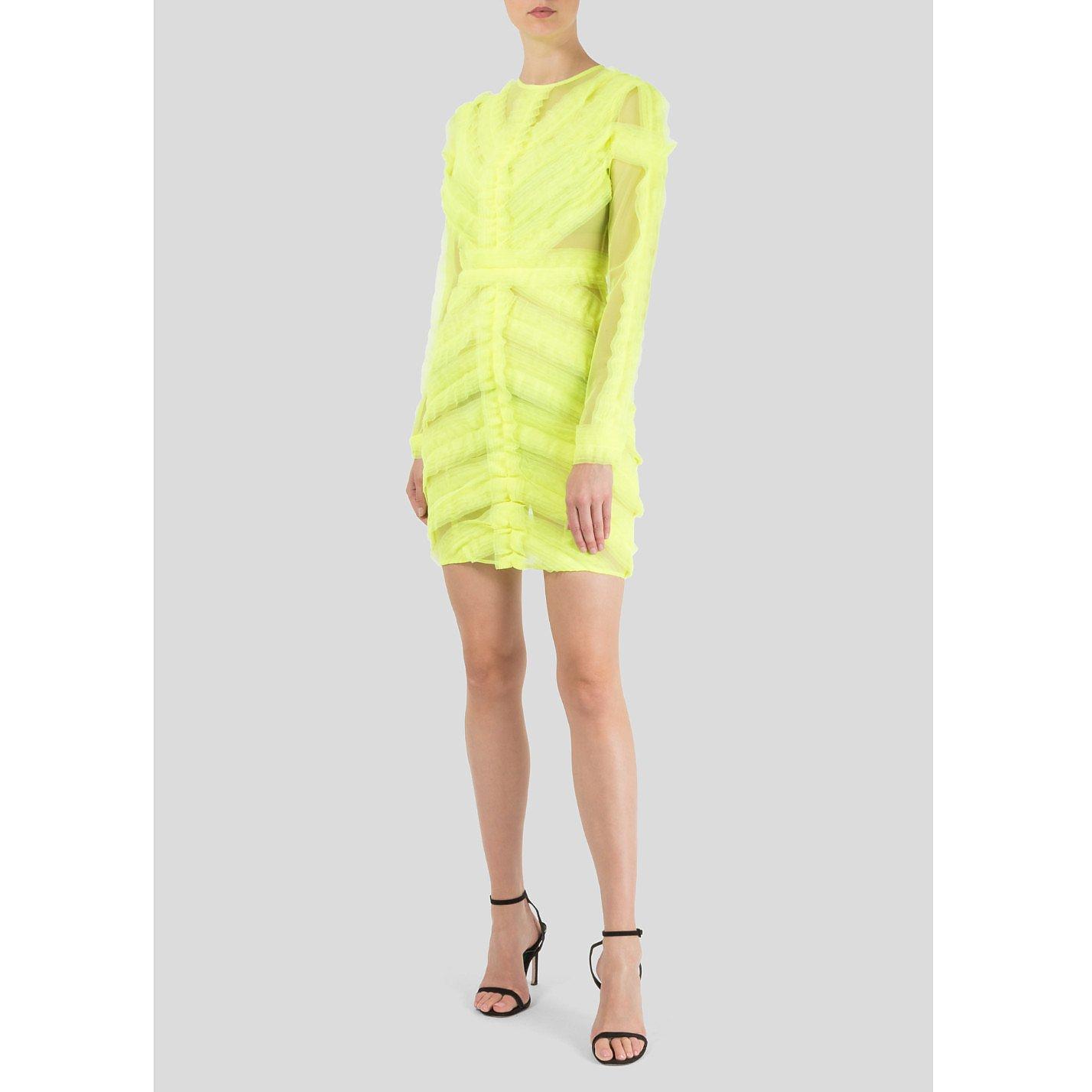 Starsica Neon Mesh Dress