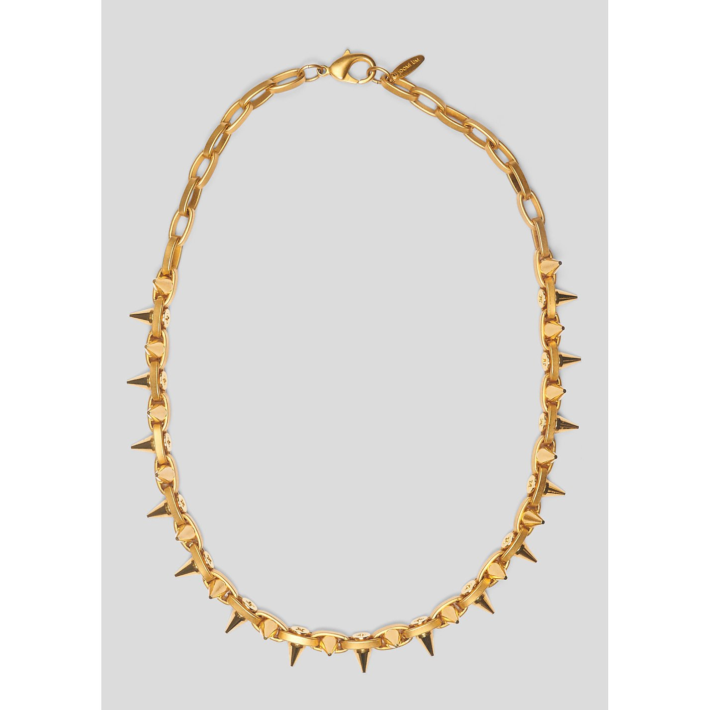 Joomi Lim Gold Style Dog Chain Necklace