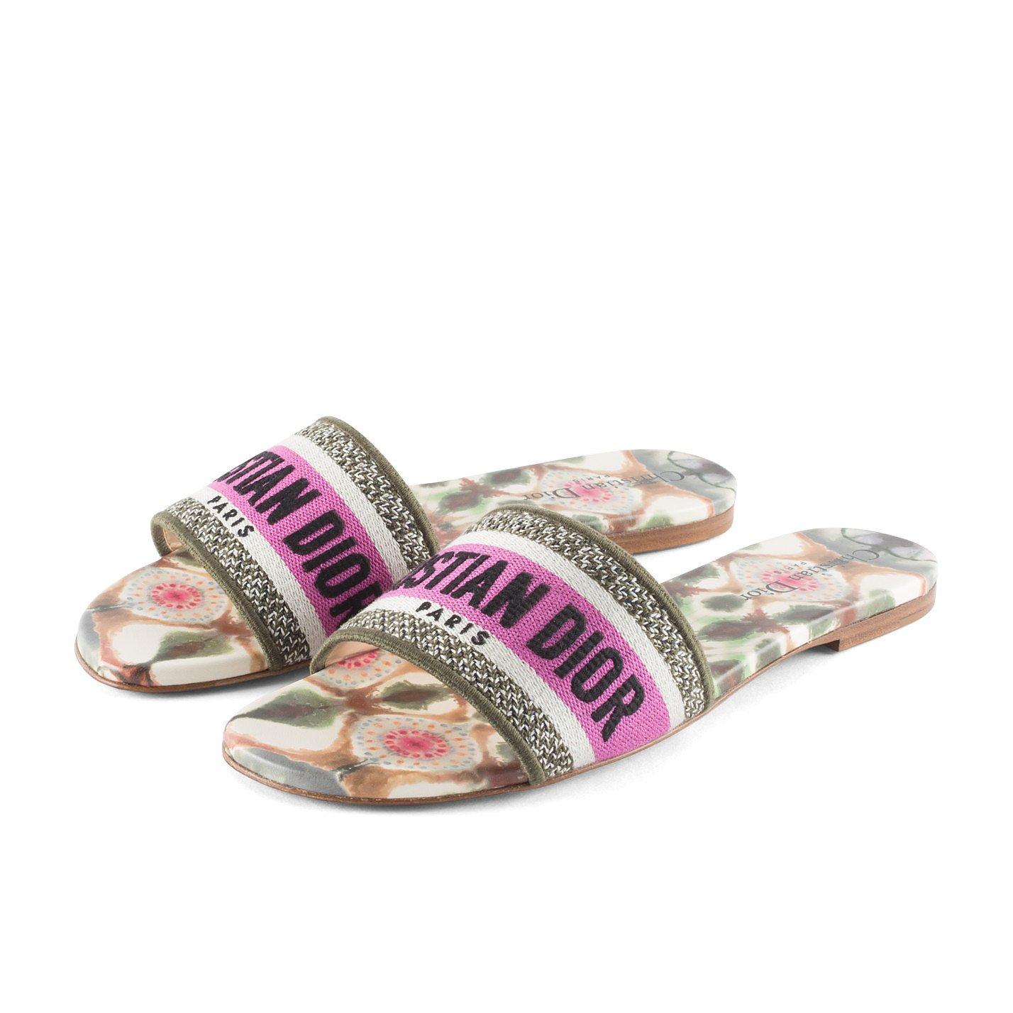 Dior Kaleidoscope Slide Sandal