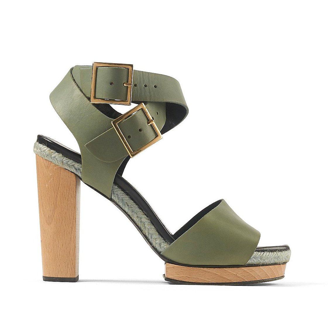 Pierre Hardy Leather Block-Heel Sandals