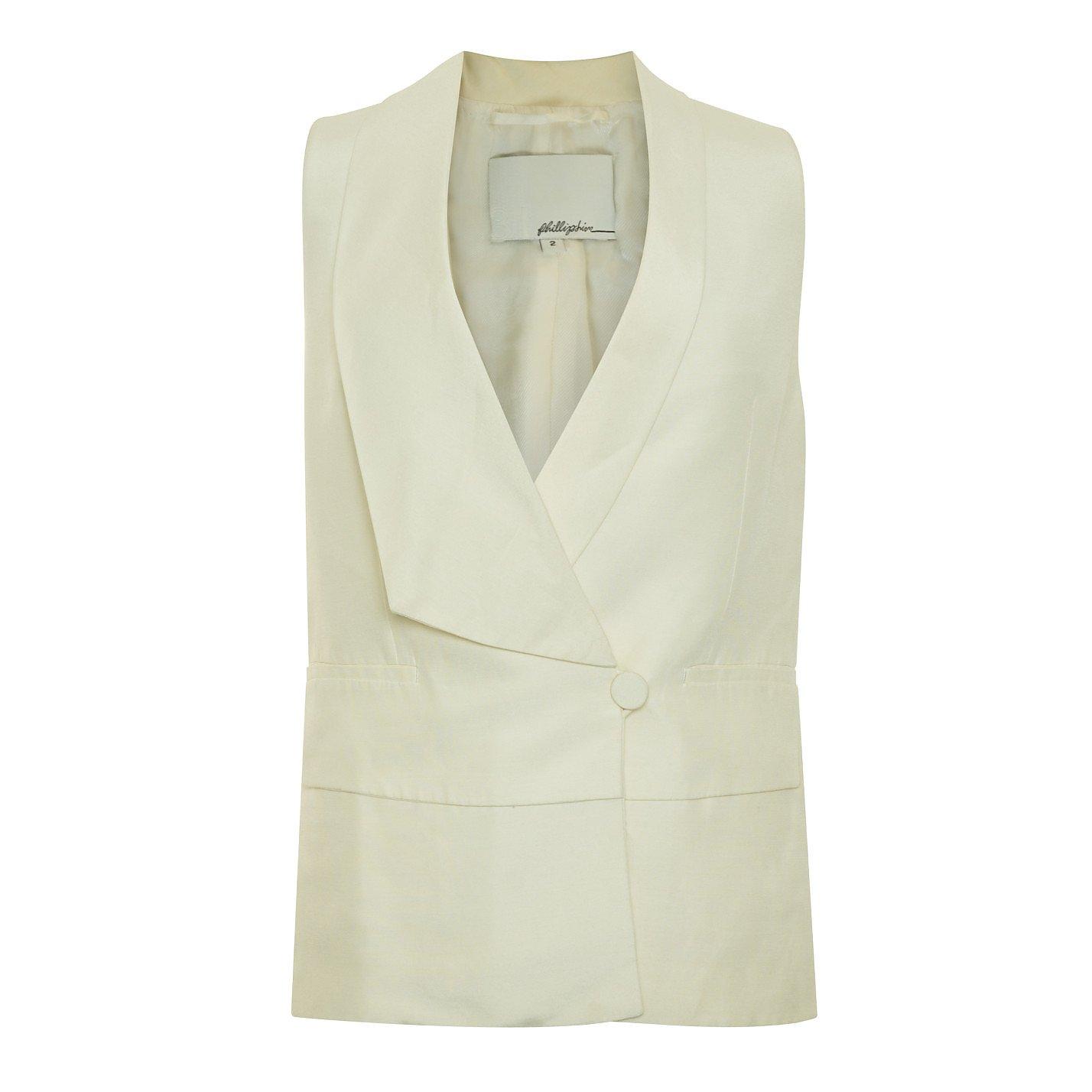 3.1 Phillip Lim Blazer-Style Vest