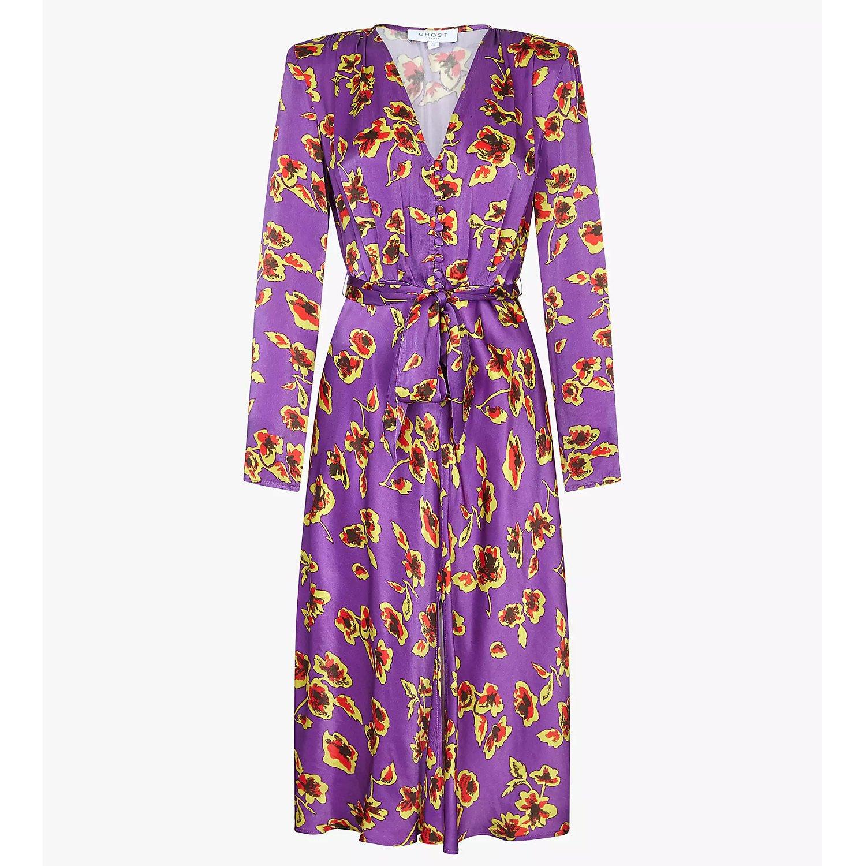 Ghost Meryl Floral Multicolour Dress