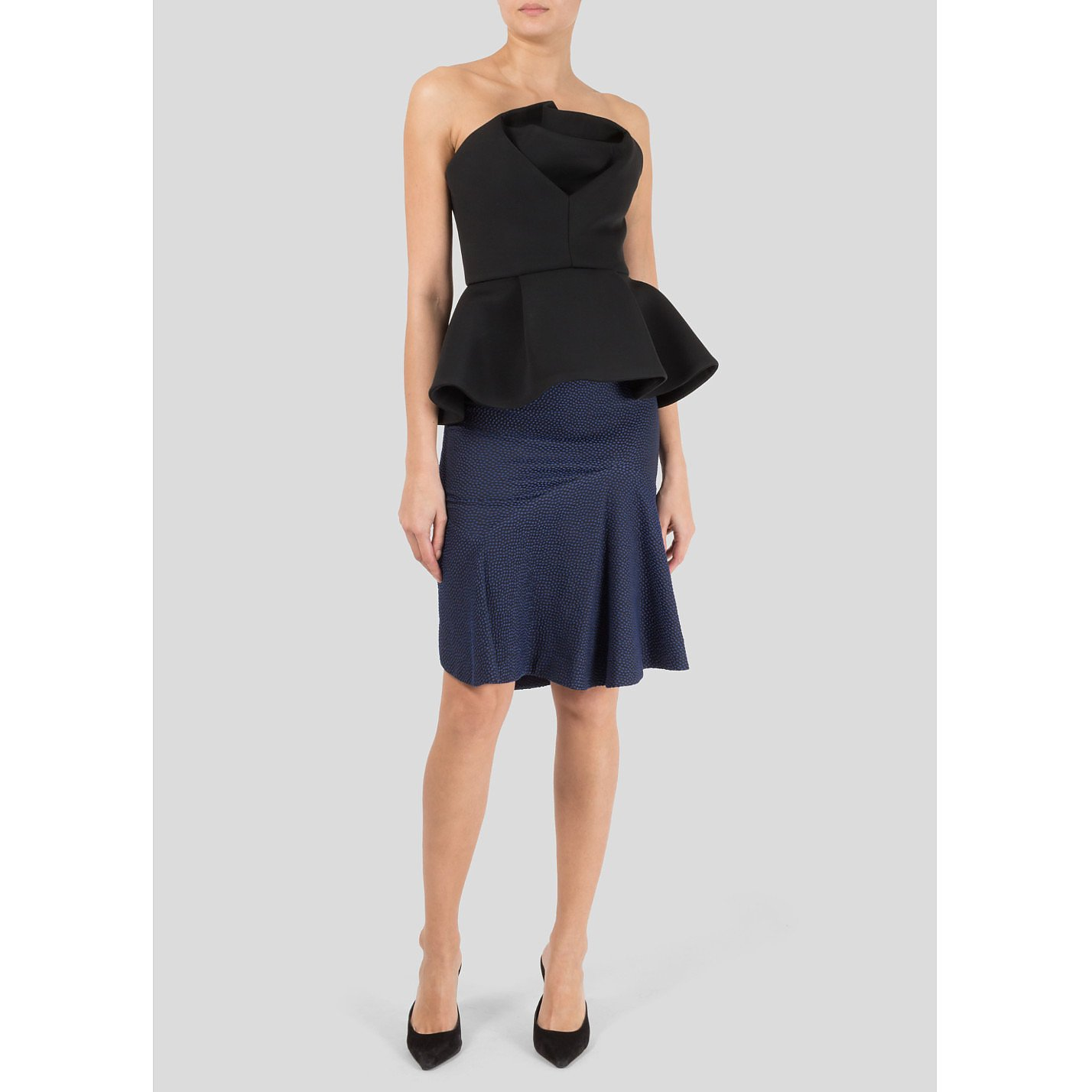 Chalayan Structured Strapless Top