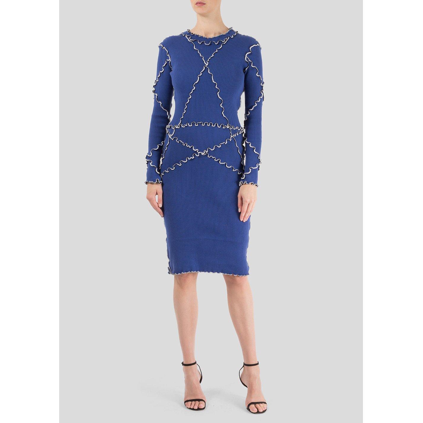 Minnanhui Frill Detail Dress