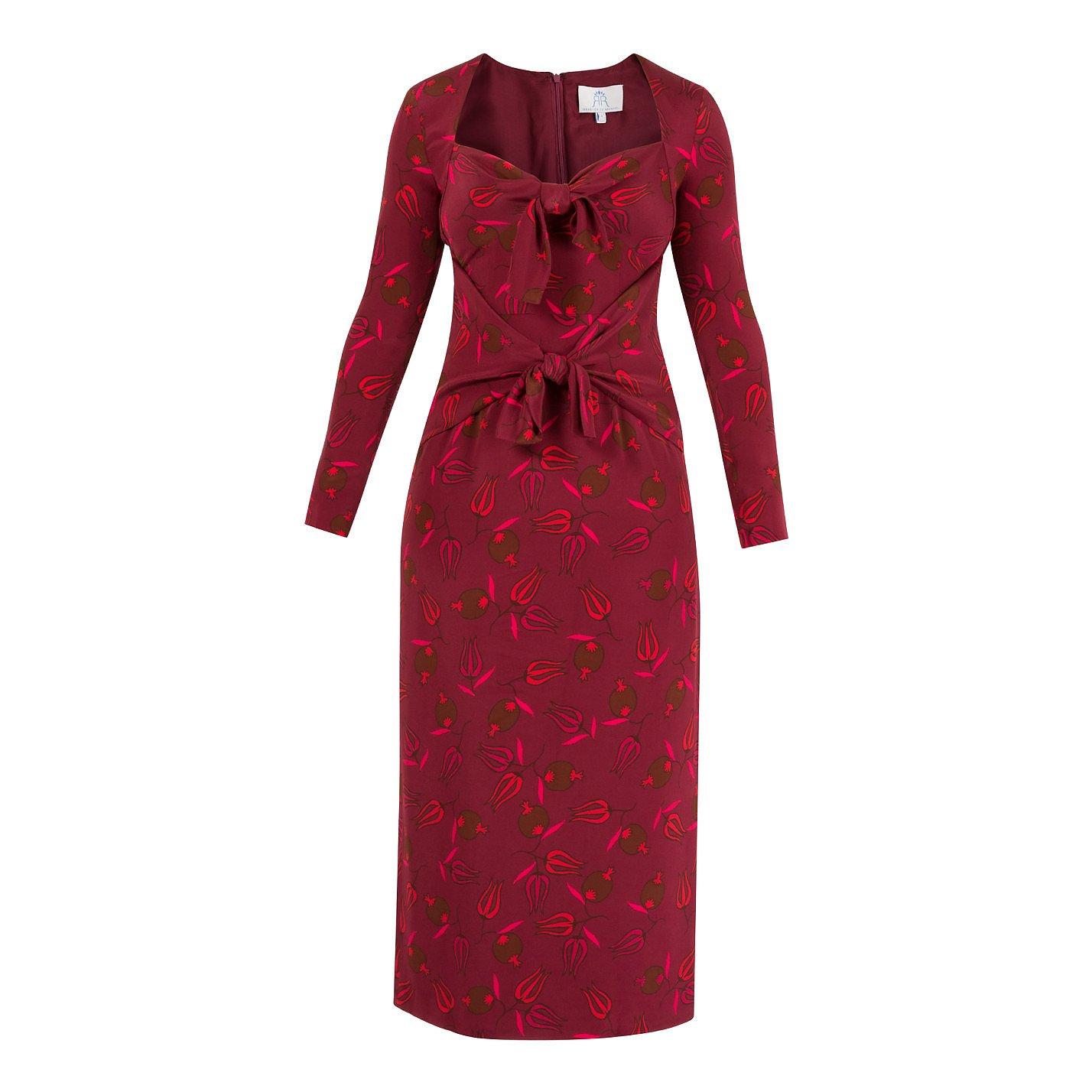 Rebecca de Ravenel Zaza Printed Midi Dress