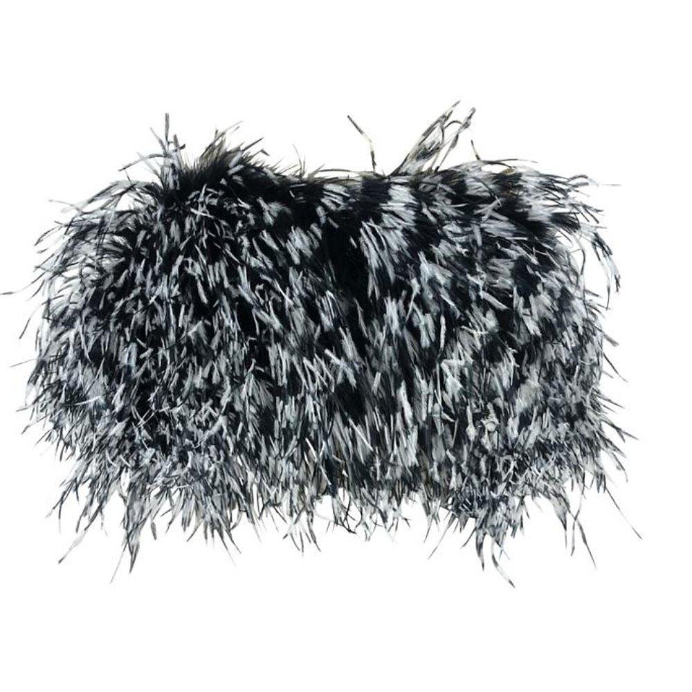 Annie's Ibiza Feather Bandeau Top