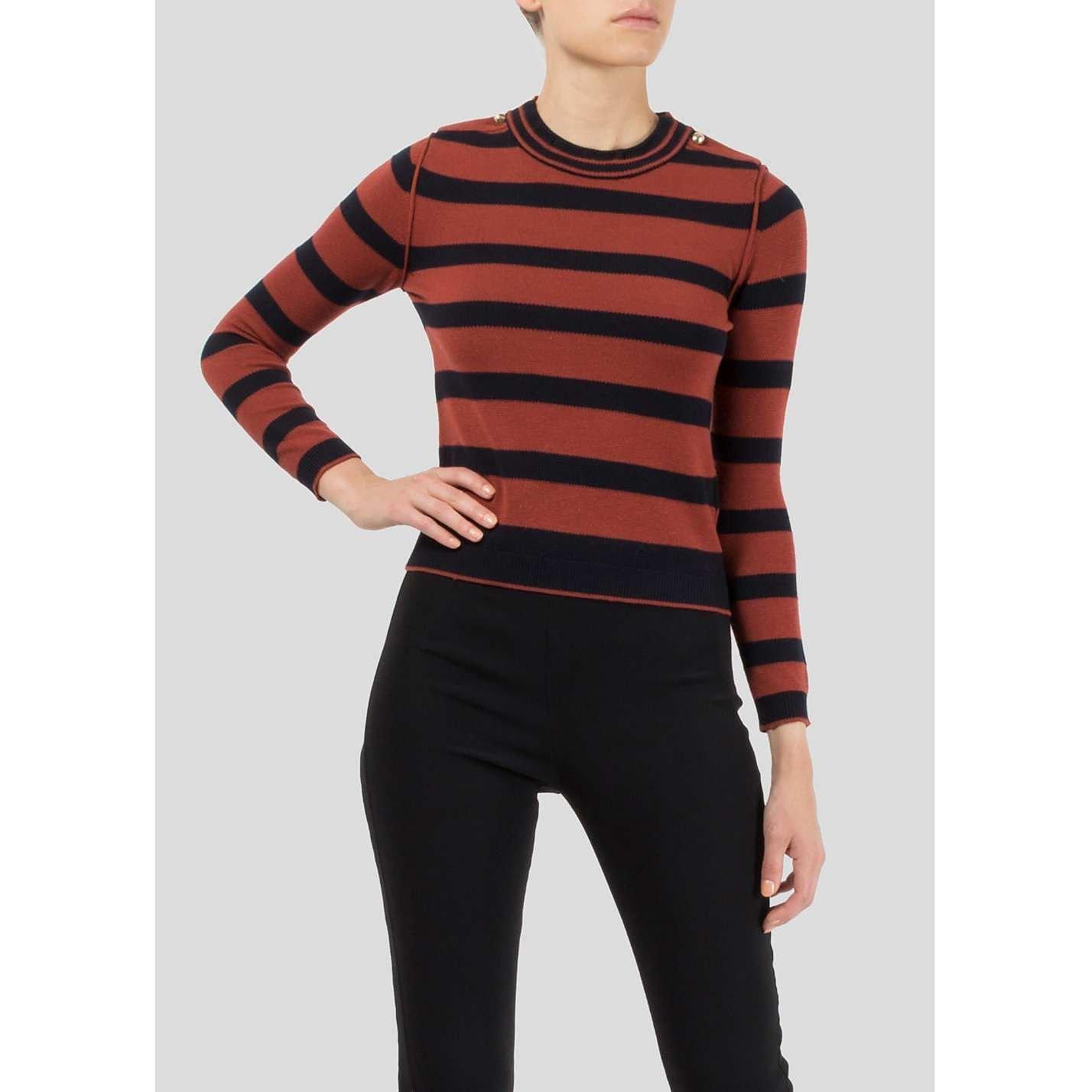 Chloé Striped Wool Sweater