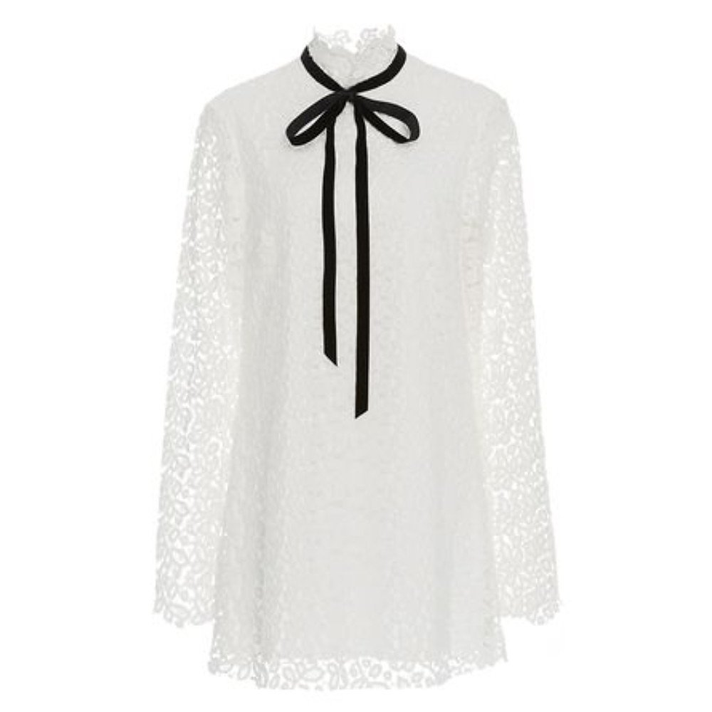 Macgraw Lace Shift Dress