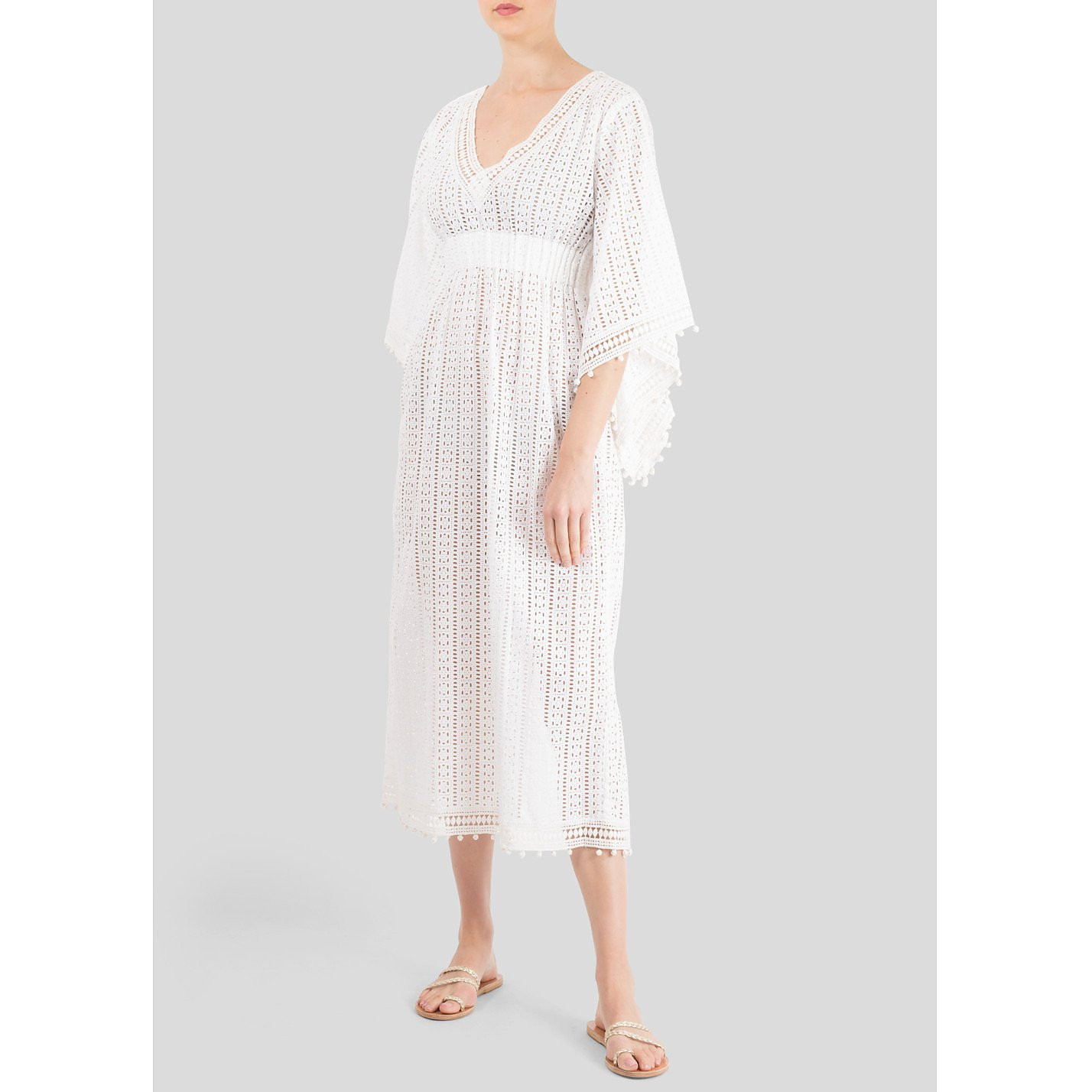 Talitha Meera Crocheted Kaftan Dress