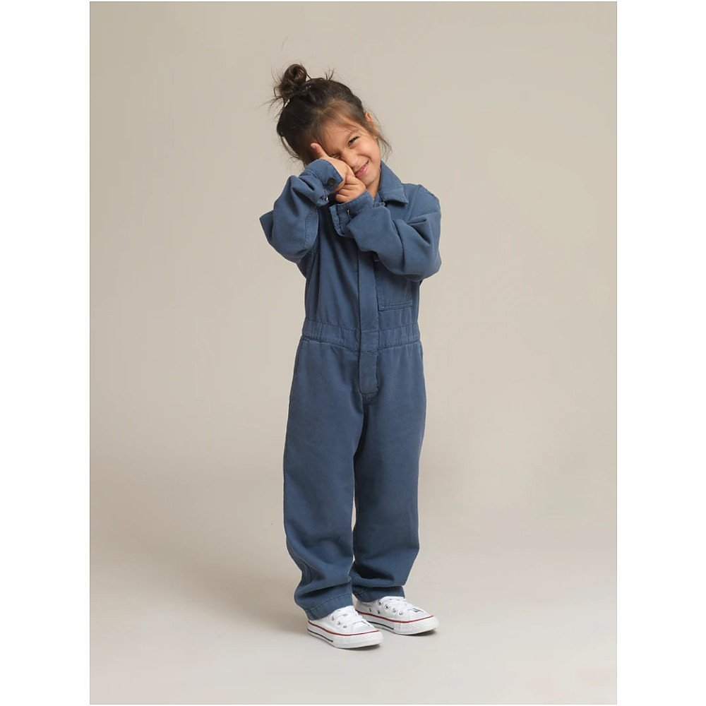 House of Minimus Kids Twill Canvas Boilersuit