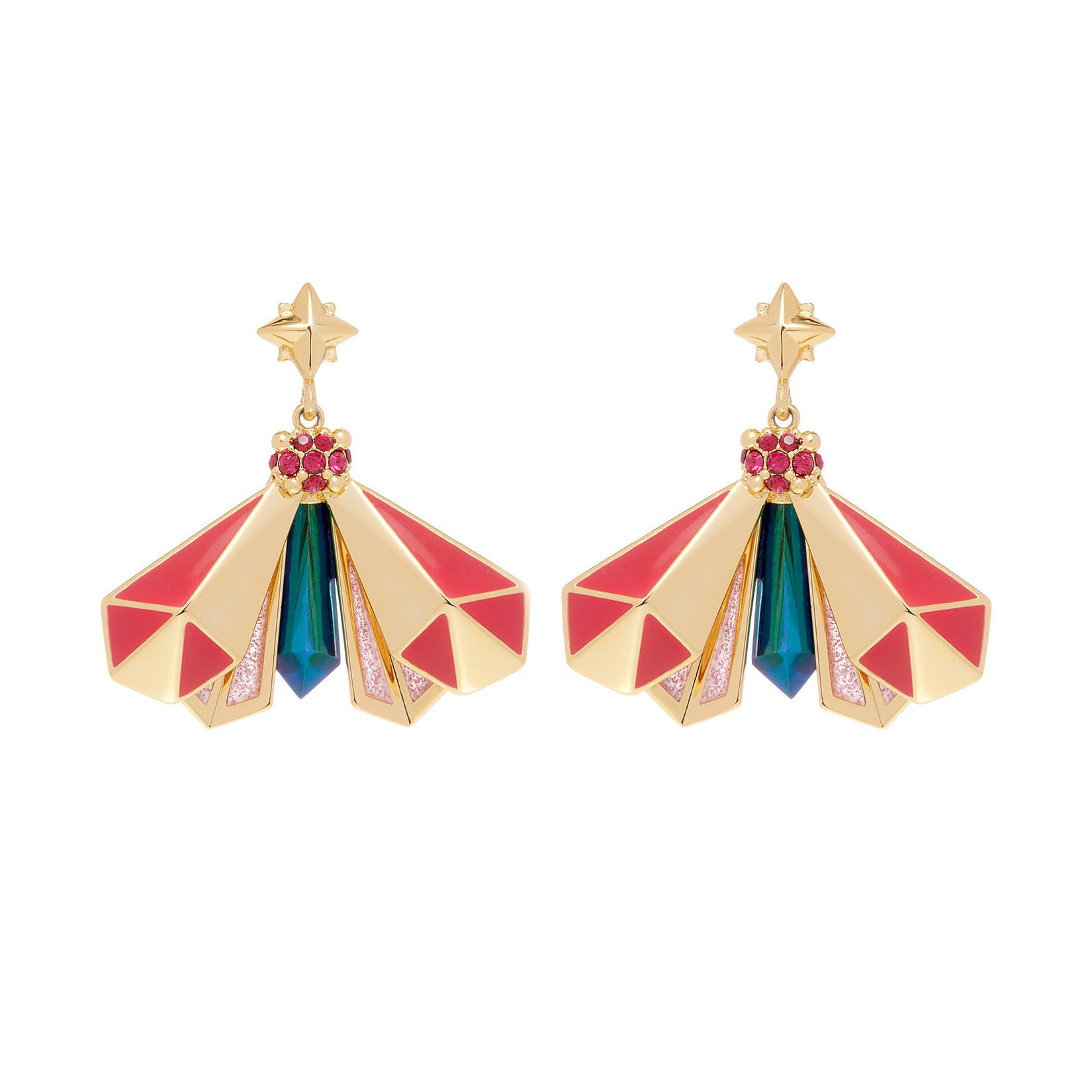 All We Are Atlas Pyramid Earrings