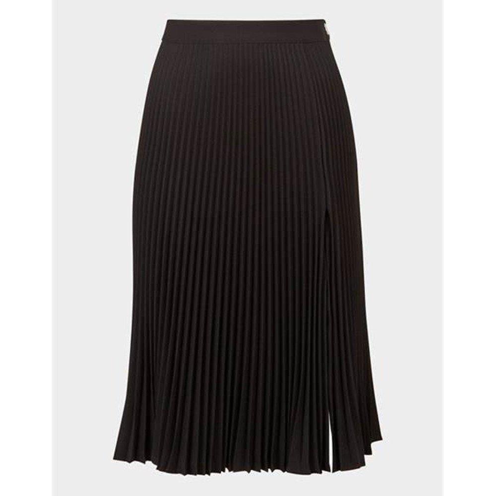 Versace High-Waist Pleated Skirt