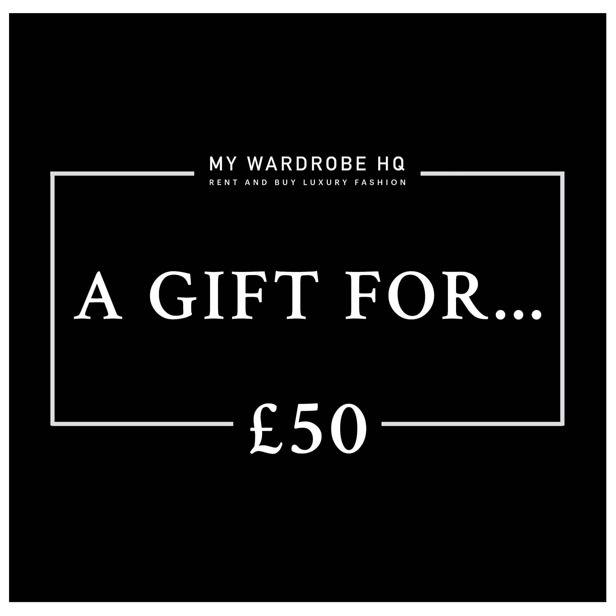 Voucher £50 gift voucher