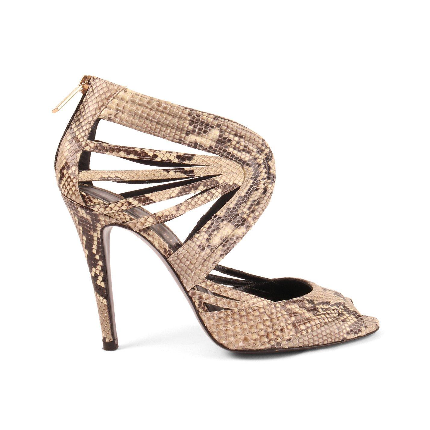 Lara Bohinc Snakeskin Sandals