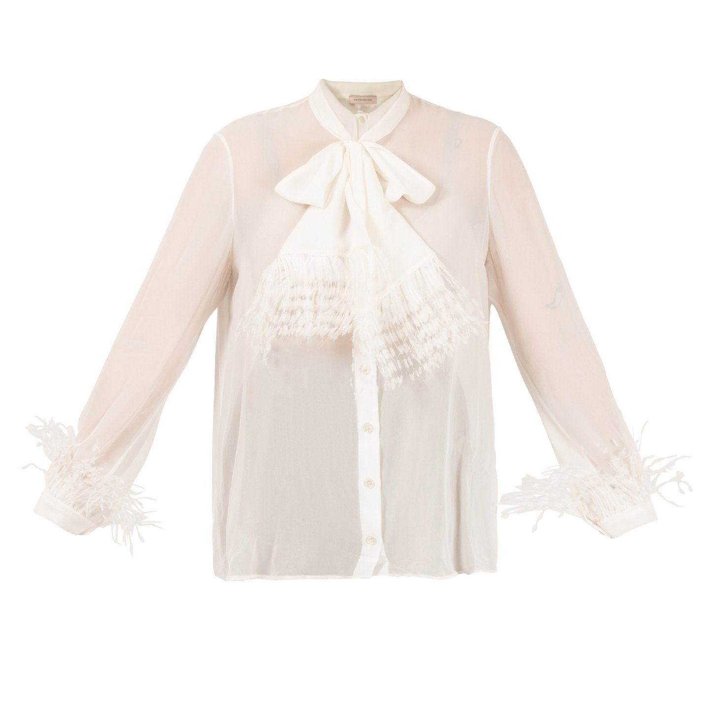 Christopher Kane DNA Feather Blouse
