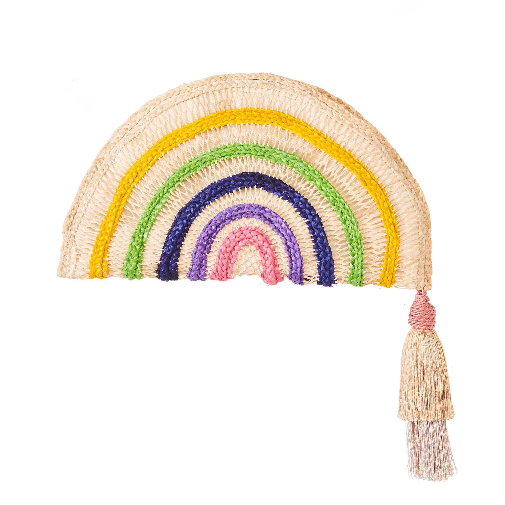 Nannacay Irene Rainbow Clutch