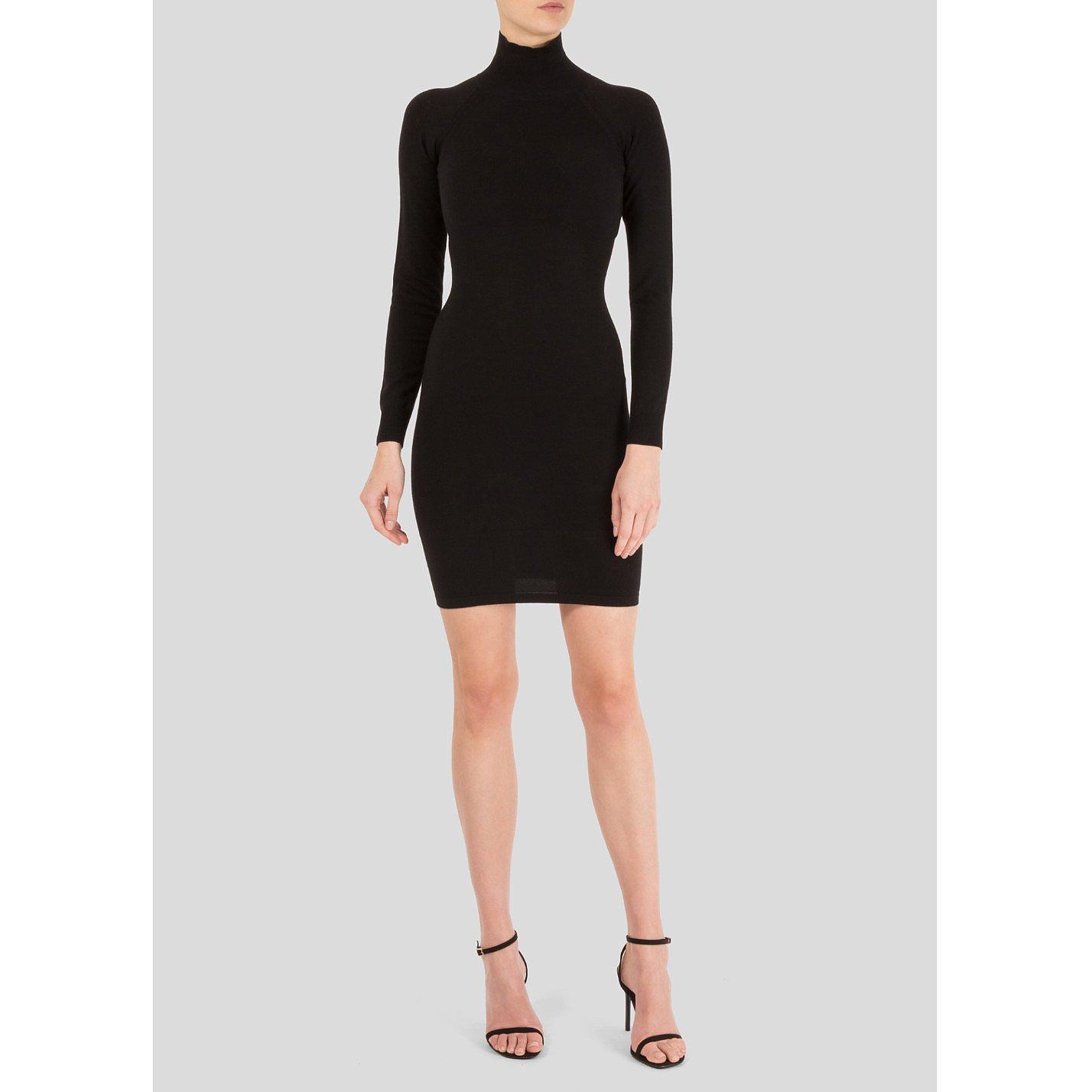 Stella McCartney Stretch Knit Turtleneck Dress
