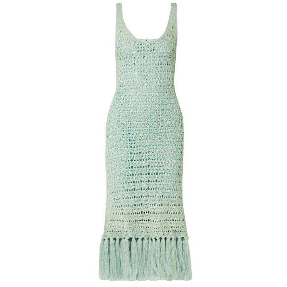 Acne Studios Arari Dance Fringed Dress