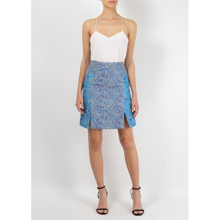 Richard Nicoll Embroidered Skirt