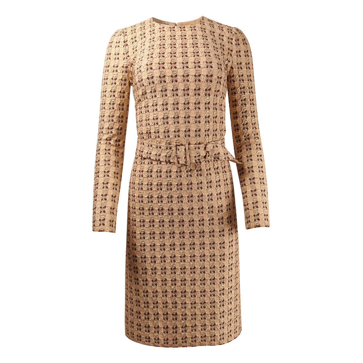 PRADA Metallic Woven Dress