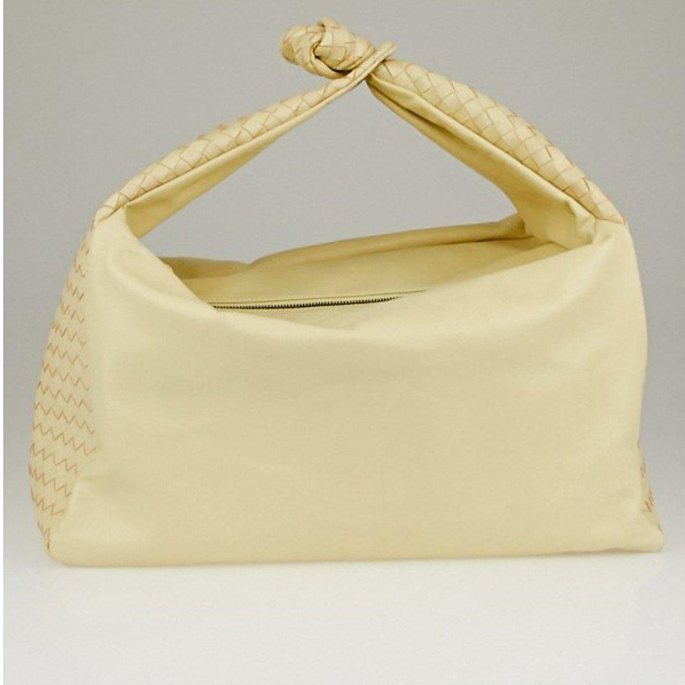 Bottega Veneta Intrecciato Knot Hobo Bag