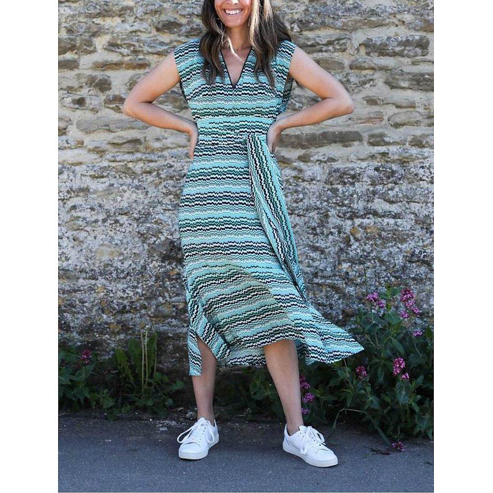 Cefinn Freya Chevron Dress