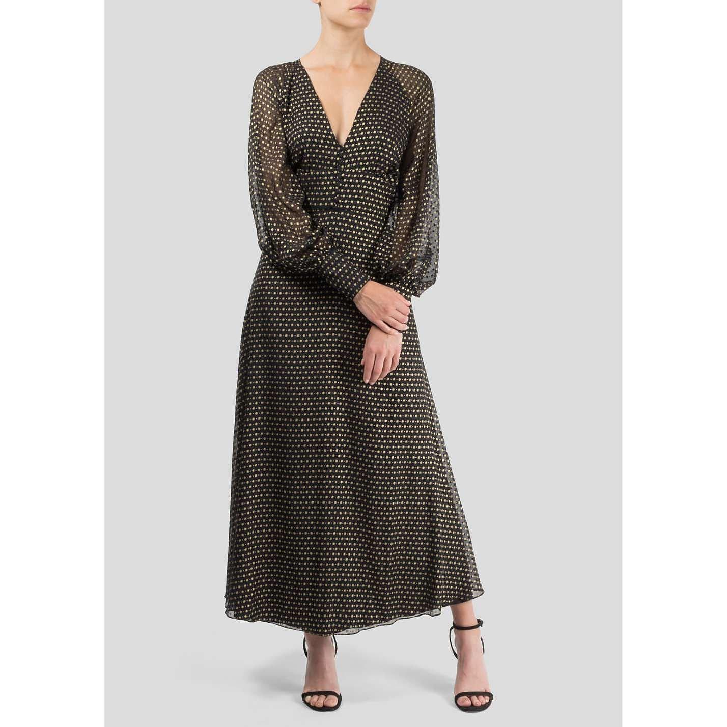 Beulah Rashmi Devore Midi Dress