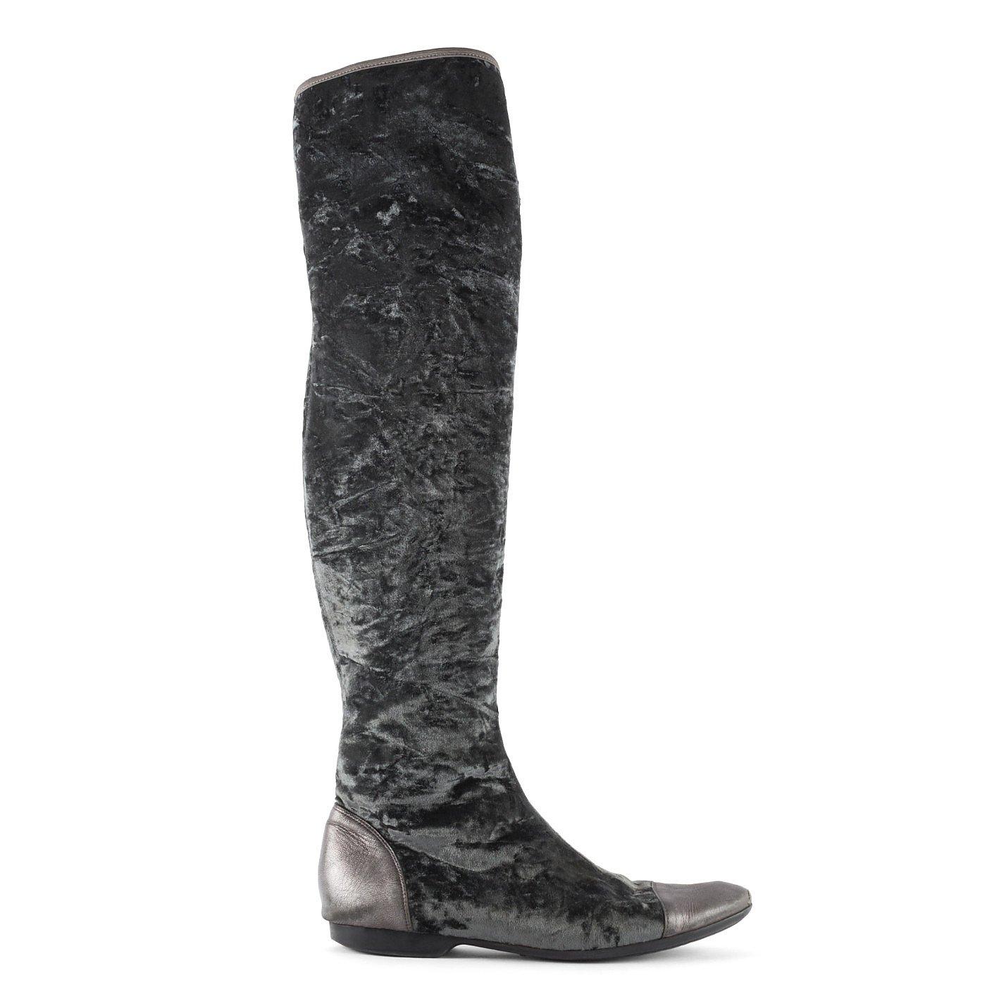 Donald J Pliner Velvet Knee-High Boots