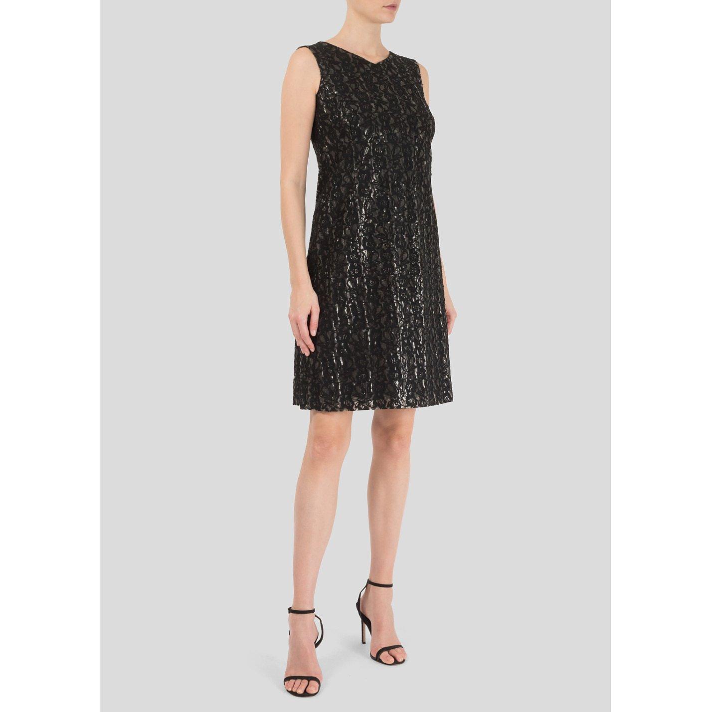 John Rocha Lace PVC Mini Dress