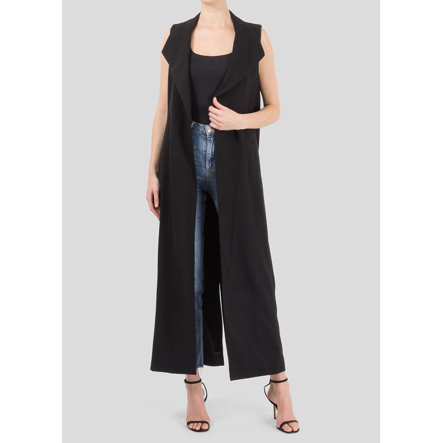 Amanda Wakeley Tailored Sleeveless Coat