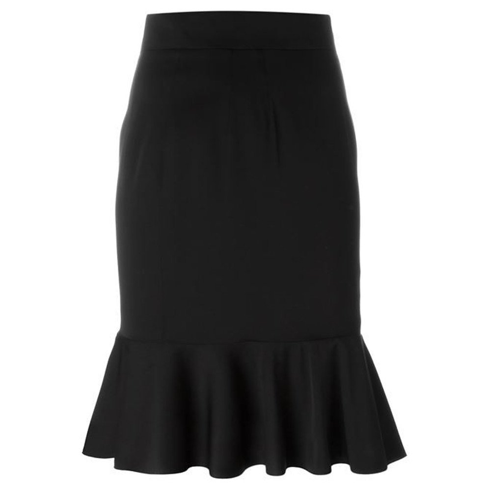 DOLCE & GABBANA Peplum Hem Skirt