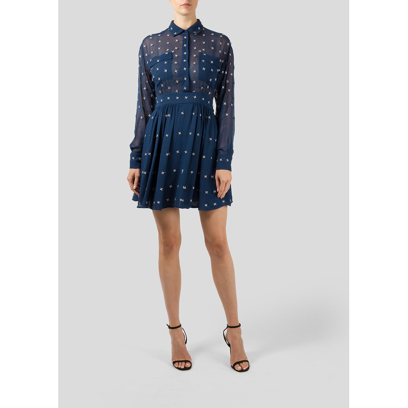 PAUL & JOE Long Sleeve Dress