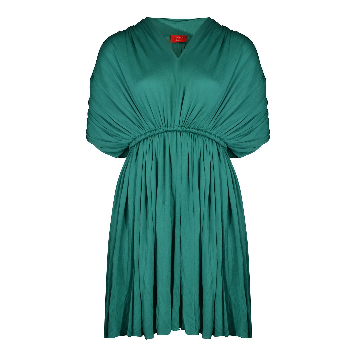 Lanvin Gathered Dress