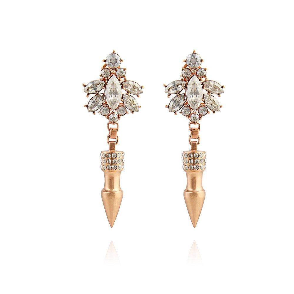 Mawi Crystal Nymph Spike Earrings