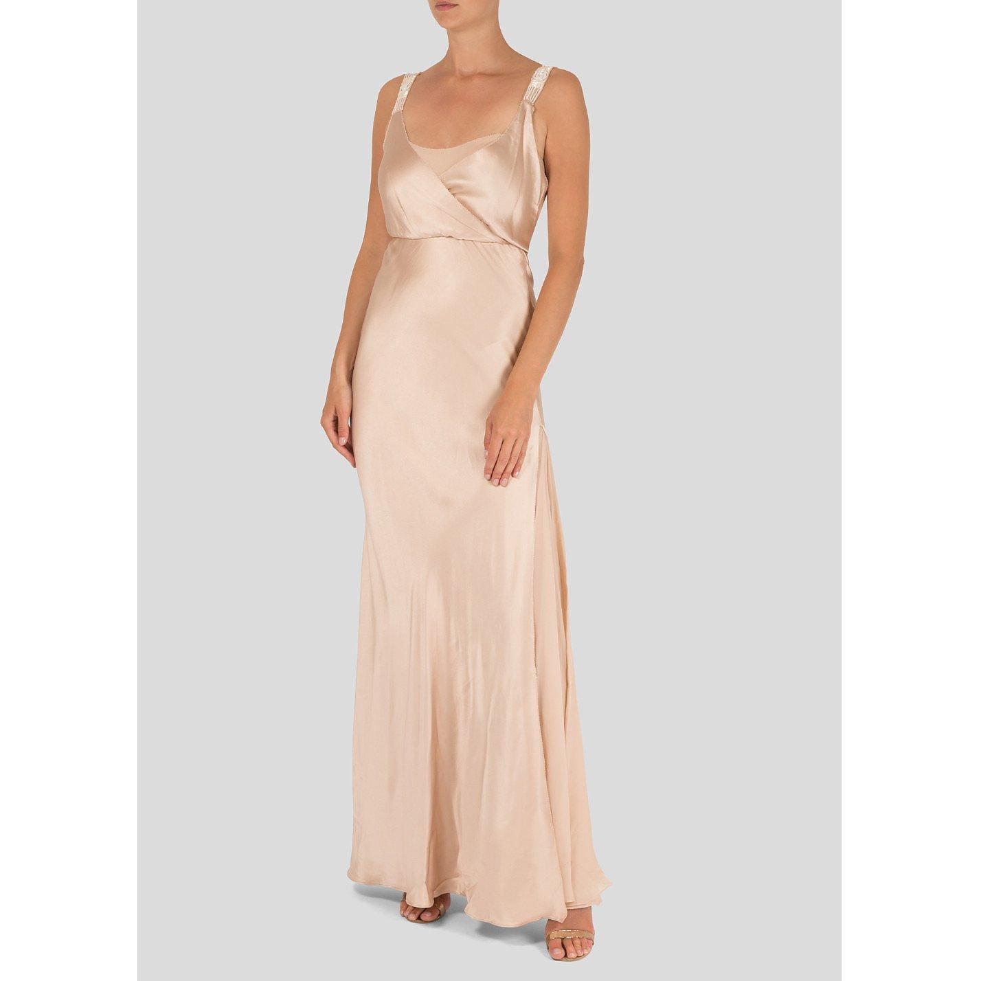 Amanda Wakeley Silk-Satin Gown