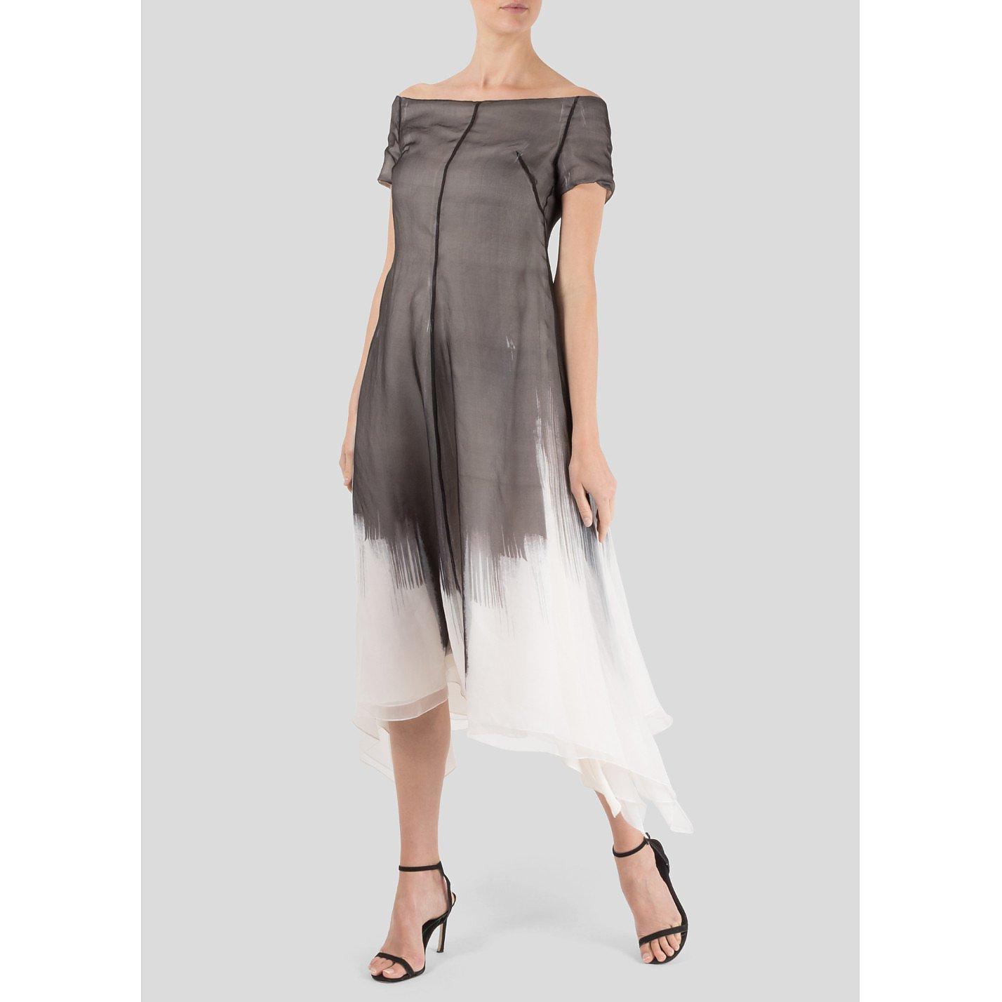 Maria Grachvogel Printed Organza Dress