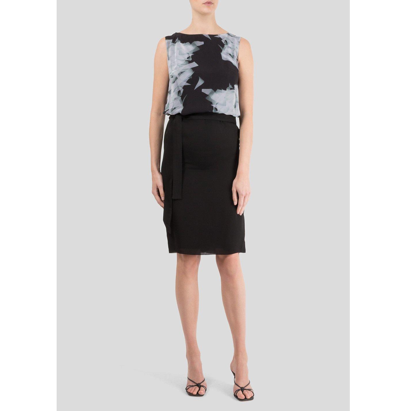 Victoria Beckham Printed Knee Length Dress